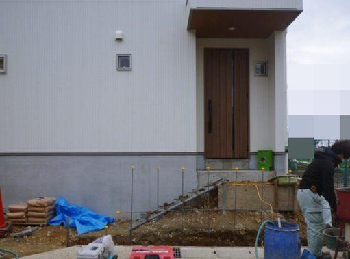 LABOT::伏見区の外構工事、もう一件着工しています