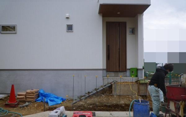 京都 LABOT - lab-t.com - 伏見区の外構工事、もう一件着工しています -