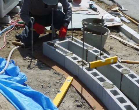 LABOT::石の壁を作るんだ