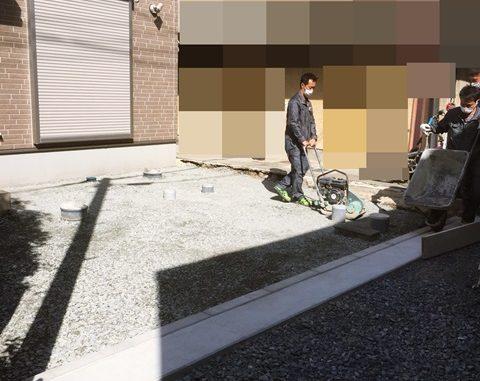 LABOT::左京区の新築外構工事、本日より着工です