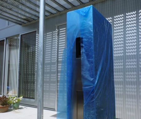 LABOT::サンワカンパニーの機能門柱がカッコイイ!