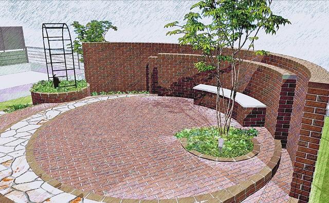 京都 LABOT - lab-t.com - ガーデンデザインの手描き平面図公開! -