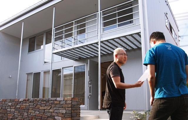 京都 LABOT - lab-t.com - 「無印の家」のお客様、外構工事のお引渡し -
