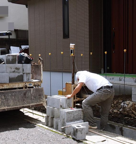 京都 LABOT - lab-t.com - 右京区:新築外構工事が始まりました -
