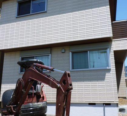 LABOT::向日市の新築外構工事、始まりました!