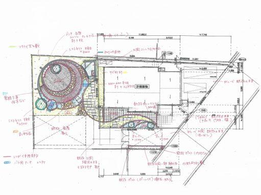 LABOT::ガーデンデザインの手描き平面図公開!
