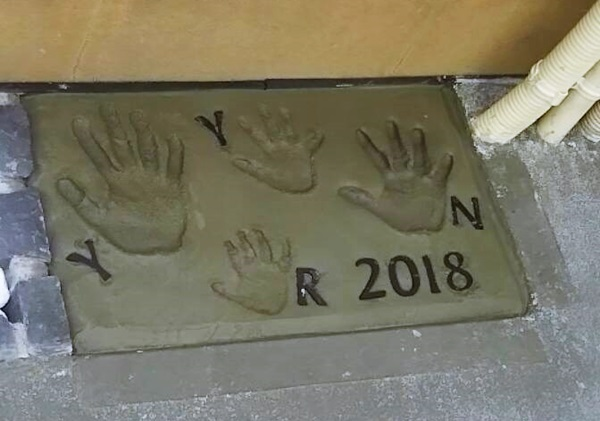 京都 LABOT - lab-t.com - 家族の記念~手形いれました♪~ -
