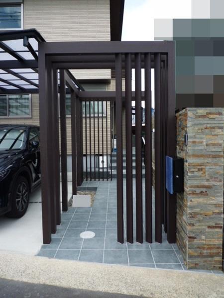 京都 LABOT - lab-t.com - 向日市の外構工事進捗状況 -