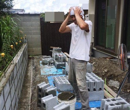 LABOT::左京区の外構工事進捗状況
