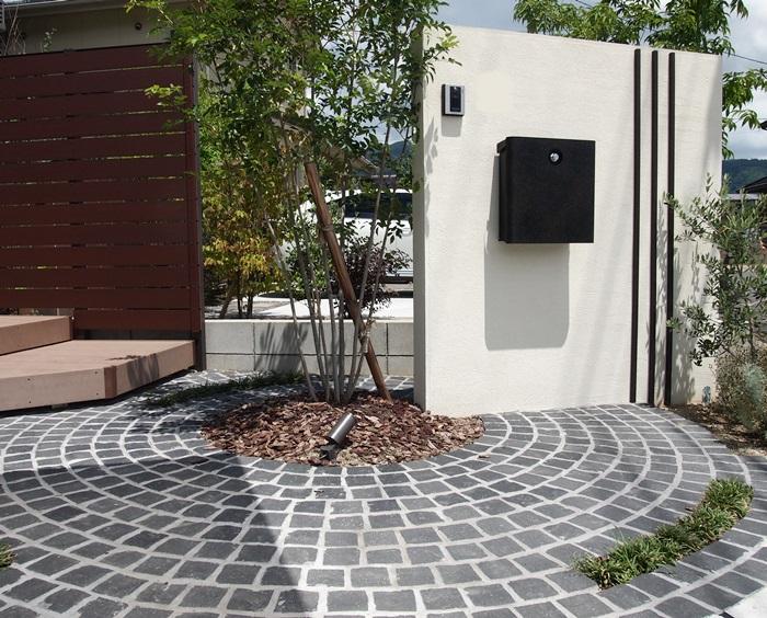 京都 LABOT - lab-t.com - 斜め・斜め・斜め(外構ゾーン) -