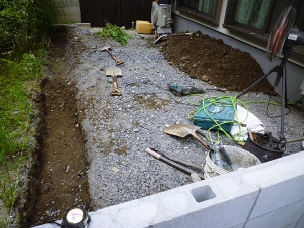 京都 LABOT - lab-t.com - 三井ホームで建築されたM様邸新築外構工事も始まっています -