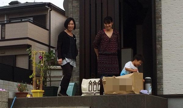 京都 LABOT - lab-t.com - 2世帯住宅の新築外構工事中 -