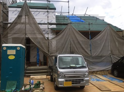 LABOT::建物の完成が待ち遠しい西京区のF様邸