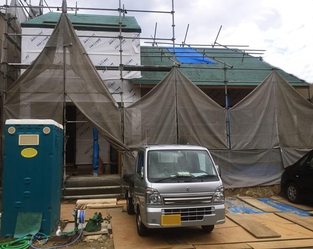 京都 LABOT - lab-t.com - 建物の完成が待ち遠しい西京区のF様邸 -