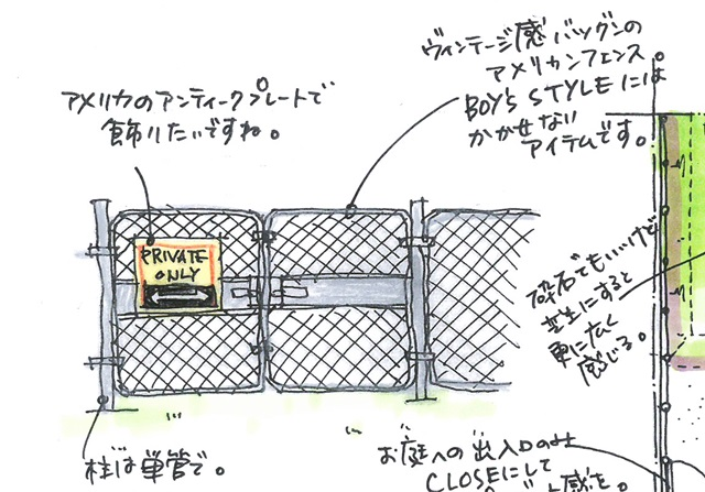 京都 LABOT - lab-t.com - これぞアメリカンフェンス -