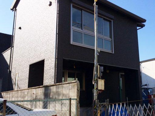 LABOT::西京区でも新築外構工事が着工中!