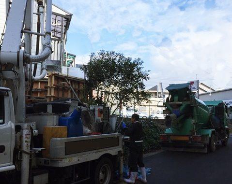 LABOT::RCコンクリート打設工事