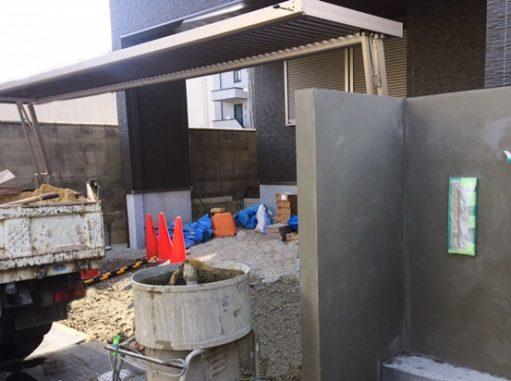 LABOT::積水ハウスで建築された西京区のK様邸外構工事の続き