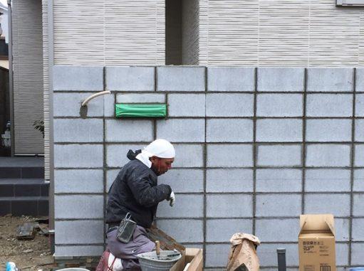 LABOT::伏見区・ミサワホームのT様邸新築外構工事やってます