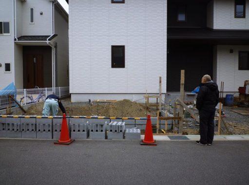 LABOT::木津川市で新築外構工事、着工中!【大和ハウスのF様邸】
