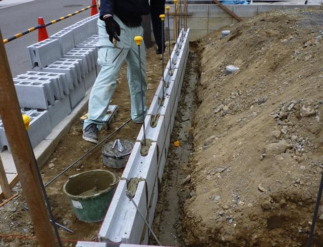 京都 LABOT - lab-t.com - 木津川市で新築外構工事、着工中!【大和ハウスのF様邸】 -