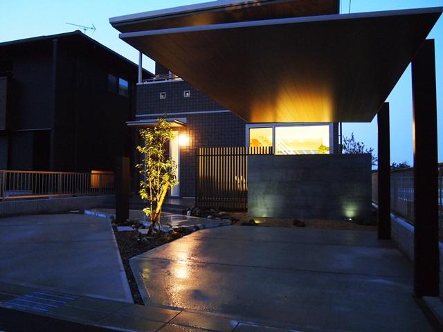 京都 LABOT - lab-t.com - オープン外構の施工例(ライトアップ)を新しく追加しました -