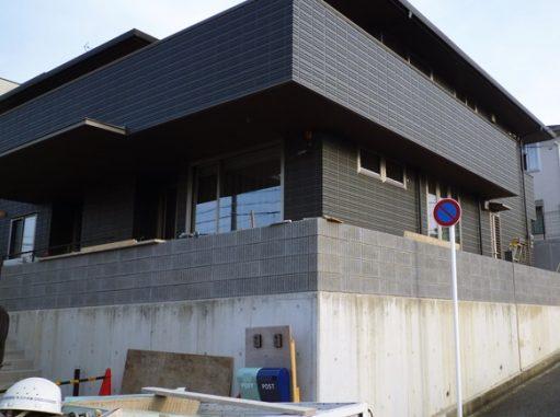 LABOT::八幡市の二世帯住宅新築外構工事