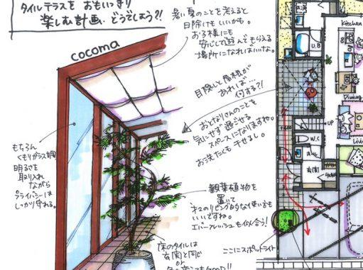 LABOT::角柱を使った門柱とかお庭のイメージとか