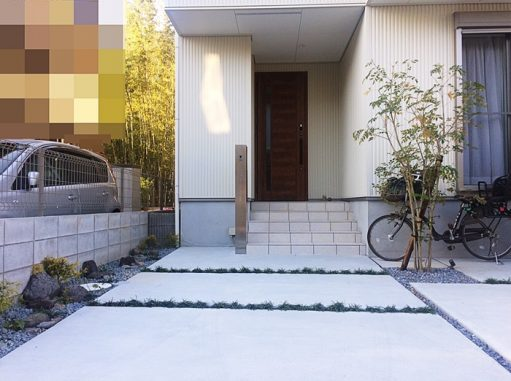 LABOT::長岡京市のK様邸完成~一般的な外構会社の外構図面とラボットの外構計画の違うところ~