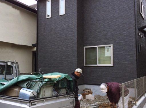 LABOT::新しく外構工事が始まりました@西京区
