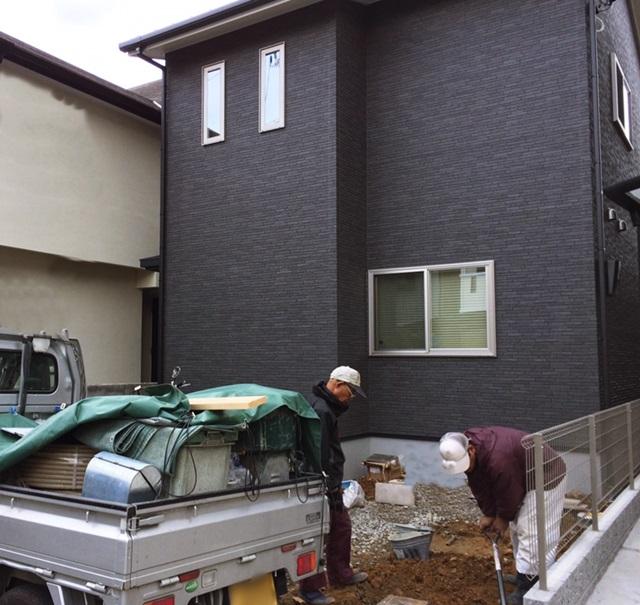 京都 LABOT - lab-t.com - 新しく外構工事が始まりました@西京区 -