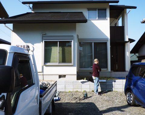 LABOT::奈良市でも新築外構工事が始まっていまーす