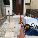 京都 LABOT - lab-t.com - 左京区でリフォーム外構工事が始まりました -