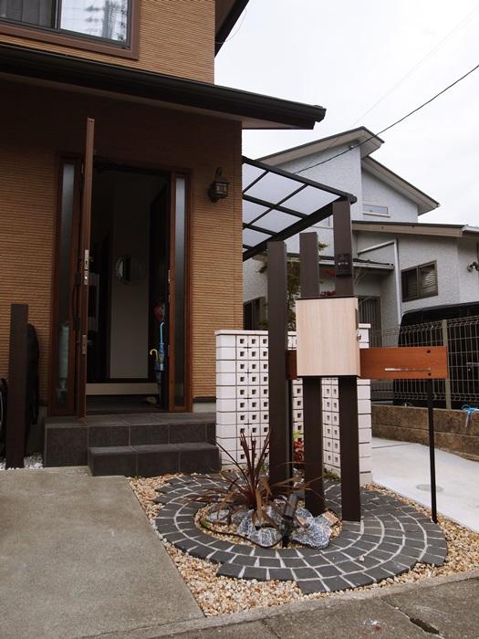 LABOT::角柱を使った門まわりリフォーム