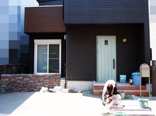 LABOT::工事、終盤!@大山崎K様邸