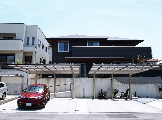 LABOT::二世帯住宅の外構