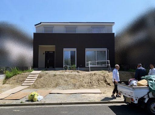 LABOT::木津川市で新築外構工事が着工しました