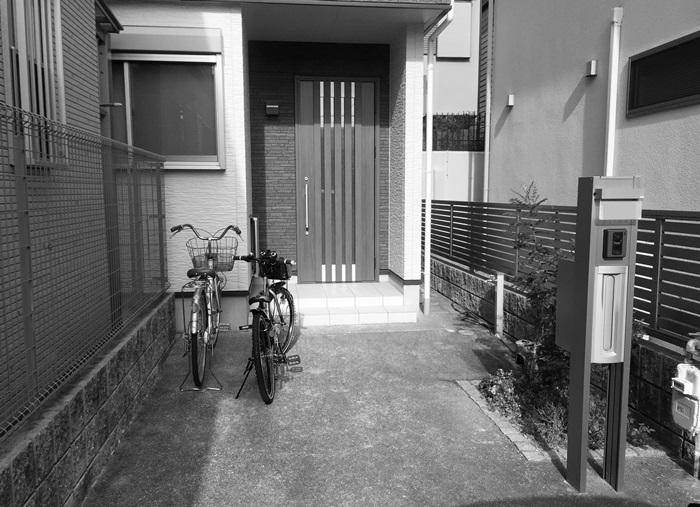 京都 LABOT - lab-t.com - オープン外構からクローズ外構へリフォームしました -