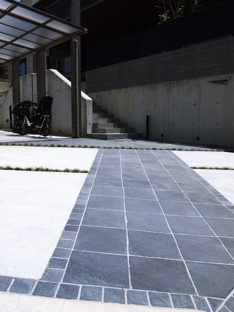 京都 LABOT - lab-t.com - 二世帯住宅の外構 -