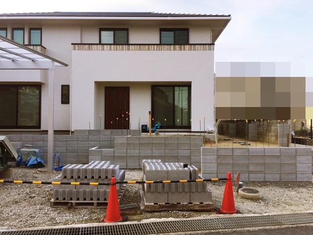 京都 LABOT - lab-t.com - 精華町M様邸リポート![門柱まわり編] -