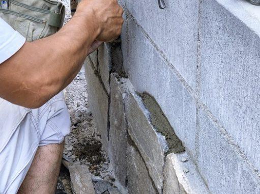 LABOT::石張り作業