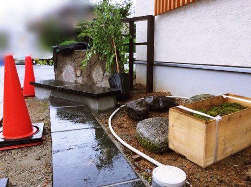 LABOT::「和」の外構、植栽の植え込み工事