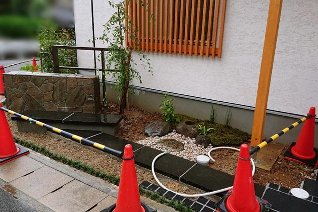 京都 LABOT - lab-t.com - 「和」の外構、植栽の植え込み工事 -