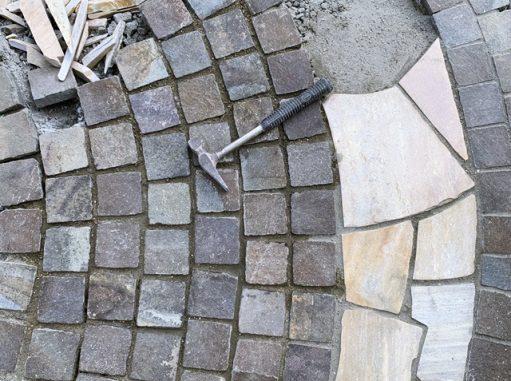 LABOT::左京区のお庭リフォーム工事、進捗状況