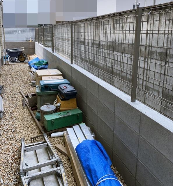 京都 LABOT - lab-t.com - 西京区では三井ホームのY様邸の外構工事、着工中です -