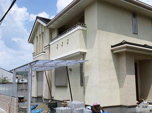 LABOT::西京区では三井ホームのY様邸の外構工事、着工中です