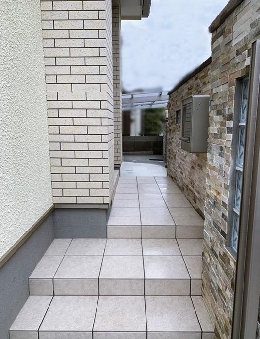 京都 LABOT - lab-t.com - 三井ホームのY様邸、外構工事が完工しました -