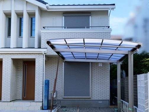 LABOT::集合住宅の外構工事~カーポートを施工しました~