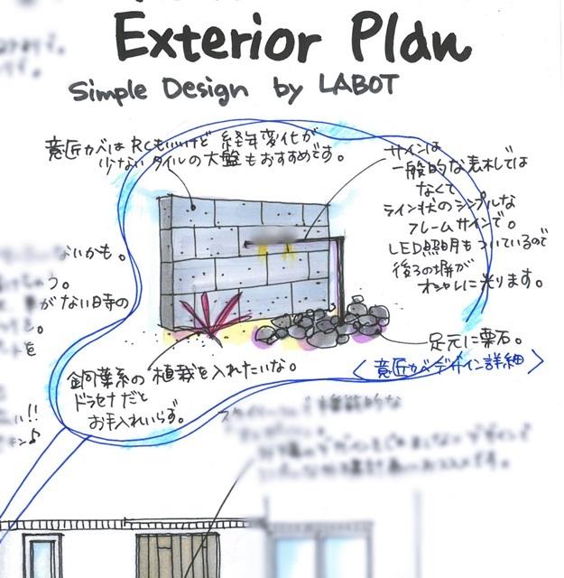 京都 LABOT - lab-t.com - T様邸の新築外構工事が始まりました@京田辺市 -