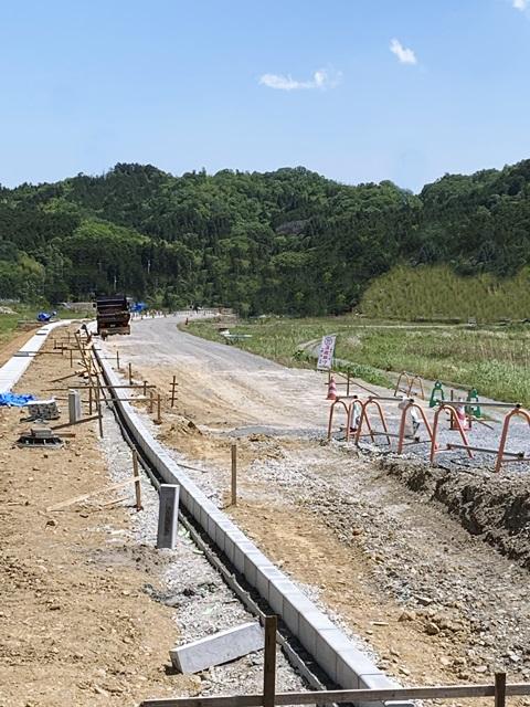 京都 LABOT - lab-t.com - 住友林業K様邸の新築外構が着工しました -